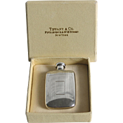Vintage Tiffany Sterling Silver Perfume Flask 1956 Miniature