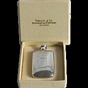Vintage Tiffany Sterling Silver Perfume Flask 1956 Miniature