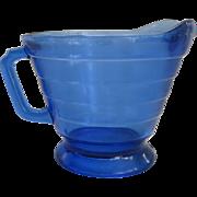 Vintage Cobalt Blue Moderntone Creamer
