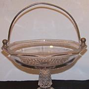 EAPG Ripley Handled Cake Basket