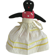 Black Americana Mammy Doll Toaster Cover Folk Art