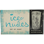 Vintage Ice Nudes Naughty Ice Cube Trays Original Box 3D Pin Up 1962