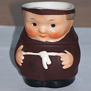 Vintage Goebel Friar Tuck Monk S 141 2/0 Creamer Pitcher Western Germany