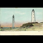 Cape Henry Lighthouse Norfolk Virginia Postcard Unused