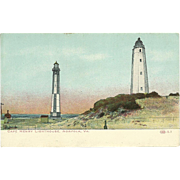 Cape Henry Lighthouse Norfolk Virginia Postcard Unused