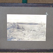 Idlewilde Camp Gelatin Silver Photograph NH Second Connecticut Lake Pittsburg Coos County Photo