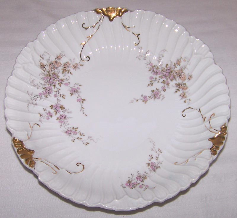 Rosenthal Swirled Gilt and Enameled Serving Bowl