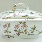 Antique Haviland Limoges Covered Casserole 1884