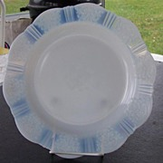 American Sweetheart Monax Luncheon Plate Depression Glass   5 available