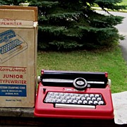 Tom Thumb Junior Typewriter Original Box Instructions