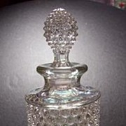 Vintage Duncan Miller Hobnail Perfume Bottle/ Decanter