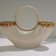 Vintage Lenox Double Wedding Basket/Vase