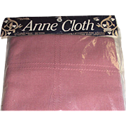 "Anne Cloth by Leisure Arts 45"" x 58"" Afghan Needlework Fabric 18 Count Dusty Rose"