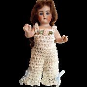 """Chemise Romper / Pantaloons for 6-8"""" BISQUE Mignonette Miniature Cabinet Doll Lingerie"""