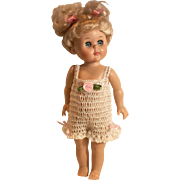 DOLL CHEMI PANTALETTES Lingerie or Sunsuit For 7 To 8 Inch Vogue Ginny or All Bisque Dolls