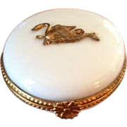 Limoges France Neiman-Marcus Porcelain Trinket Box