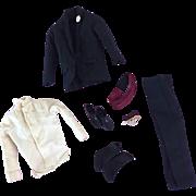 Vintage Ken Tuxedo #787,  Jacket, Pants, Shirt, Socks, Shoes, Cummerbund, Bow Tie