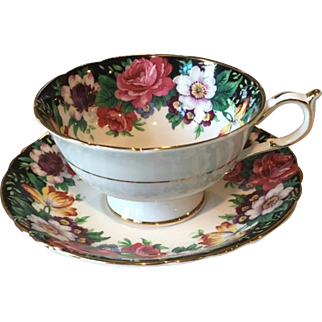 C1950's Paragon Westdale  English Fine Bone China Cup & Saucer