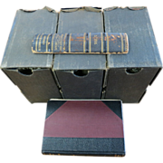 RARE World War I Stereoscope 300 Photo Set Complete with Book