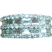 Lady's 14K White Gold Diamond Ring - 1.4 Carats