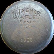 Cast Iron Wagner Ware Hot Pot - 1368