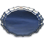 Reed & Barton Chippendale Sterling Tray - Excellent