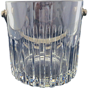 BACCARAT Rotary Pattern Ice Bucket