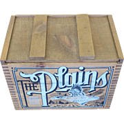 REMINGTON - THE PLAINS - Ducks Unlimited Central Flayway Edition Wood Ammo Box