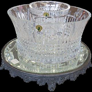Waterford Lismore Diamond Caviar Server