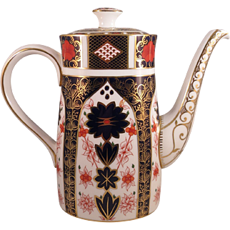 Royal Crown Derby Imari Coffee Pot
