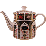 Royal Crown Derby Imari Tea Pot