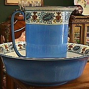 Summerton's Co. England Wash Bowl & Pitcher Set