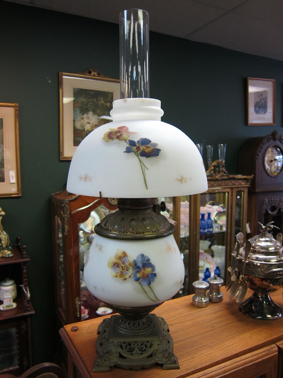 Smith Bros Oil Lamp Convert To Electric From
