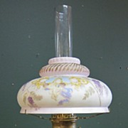 Victorian Oil Lamp Convert to Electric - Cherubs !!!