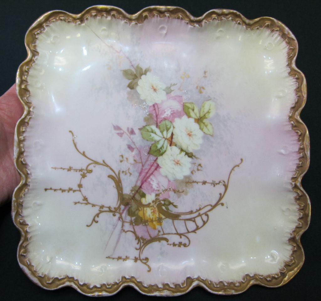 Limoges Dresser Tray - Roses