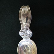 Tiffany Sterling Nursery Rhymes Child's Spoon - 1911
