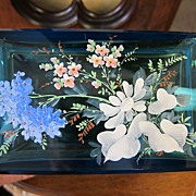 Moser Enameled Jewelry Casket - Beautiful Blue