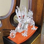 Swarovski SCS Members-Dragon 2nd in Fabulous Creatures Series