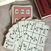 Semacode Signal Training Cards, U.S. Playing Card Company