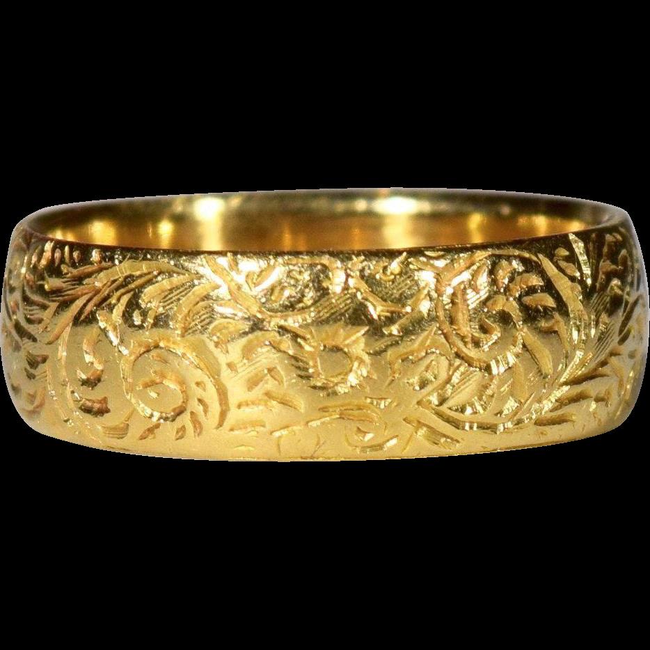 18k gold victorian wedding band birmingham england sold for Sell jewelry birmingham al