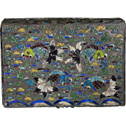 Japanese Box, Cloisonne Goldfish