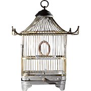 Art Cage Manufacturing Company Pagoda Bird Cage