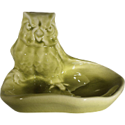 Rookwood Art Pottery Owl Dish 1084