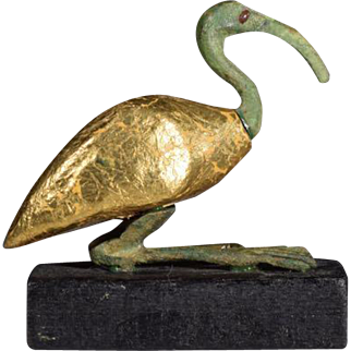 Egyptian God Thoth in the Form of an Ibis, Archaistic Reproduction