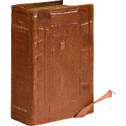Shakespeare Bible, David Bryce & Son, Glasgow, Miniature Book, 1901