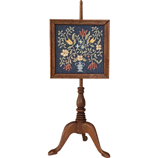 Annelle Ferguson Miniature Fire Screen, 60-Count Silk