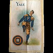 Yale University Football Murad Cigarette Silk