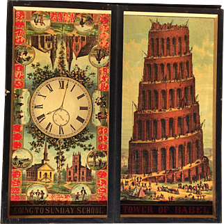 McLoughlin Brothers 1875 Pilgrim's Progress Board Game