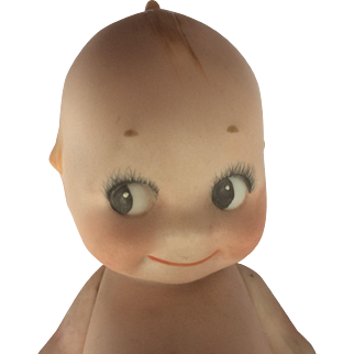 Early Rose O'Neill 6.75-inch Bisque Kewpie Doll
