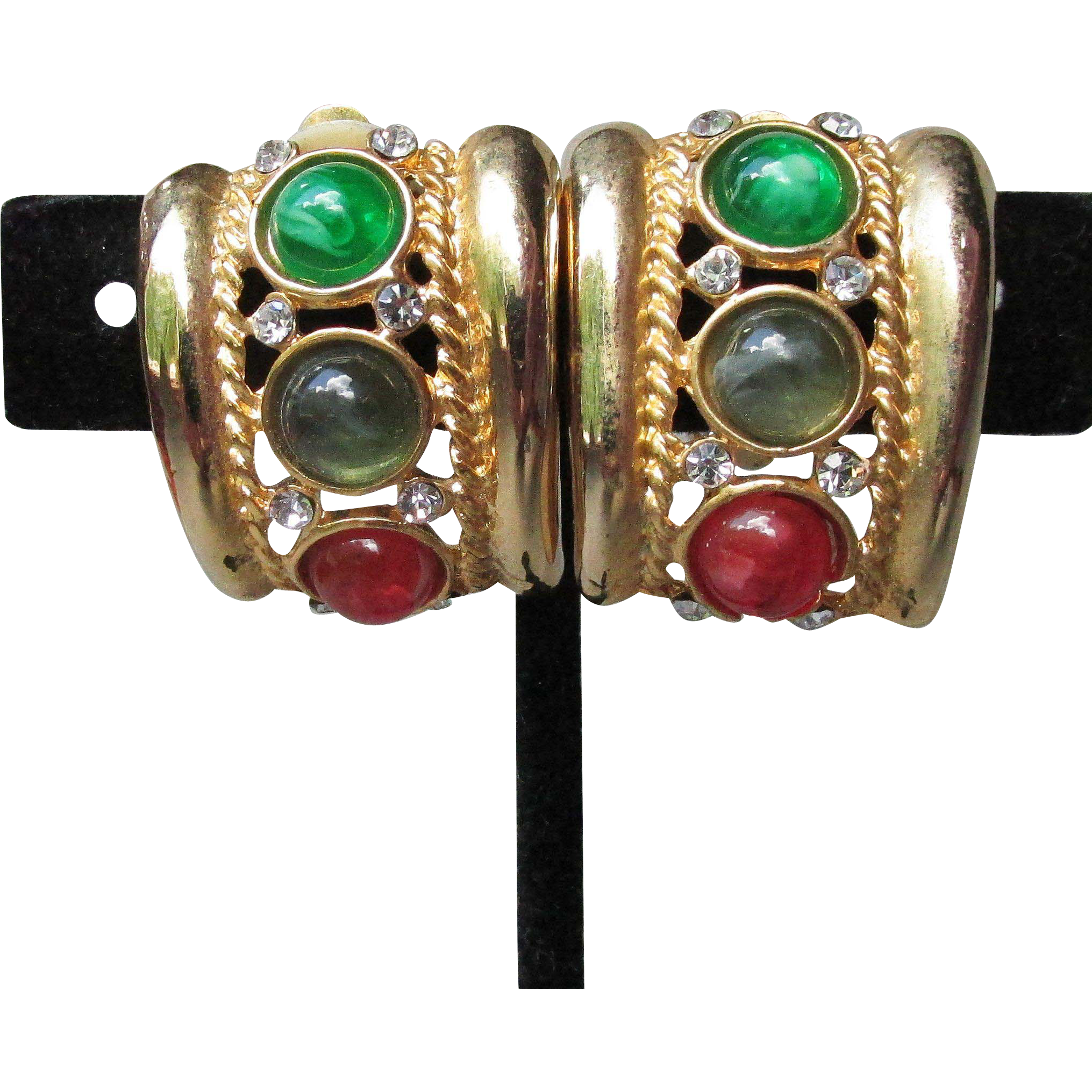 1980 S Vintage Unsigned Ciner Moghul Jewels Of India